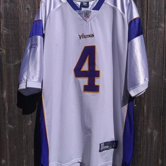 Stitched Brett Favre Vikings Jersey